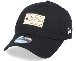 Heritage Patch 9Forty Black Adjustable - New Era