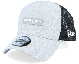 Heather A-Frame Heather Grey/Black Trucker - New Era