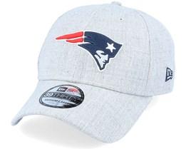 New England Patriots 39Thirty Heather Grey Flexfit - New Era