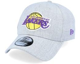 LA Lakers 39Thirty Heather Grey Flexfit - New Era