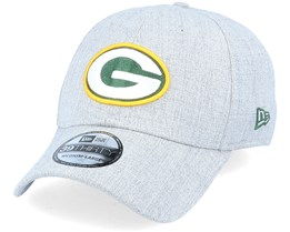 Green Bay Packers Heather 39Thirty Heather Grey Flexfit - New Era