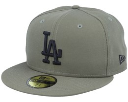 Los Angeles Dodgers Essential 59Fifty November Green/Black Fitted - New Era