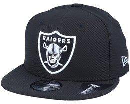 Oakland Raiders Diamond Era Essential 9Fifty Black/White Snapback - New Era