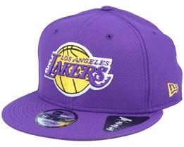 LA Lakers Diamond Era Essential 9Fifty Purple/Yellow Snapback - New Era
