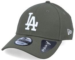 Los Angeles Dodgers Diamond Era Essential 9Forty Olive/White Adjustable - New Era