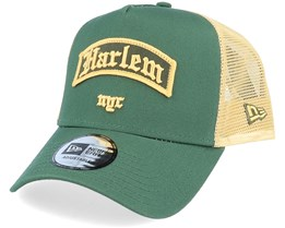 Harlem Borough Af Green Trucker - New Era