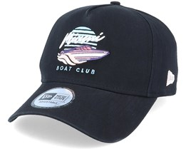 Beach Miami Boat Club Black Adjustable - New Era