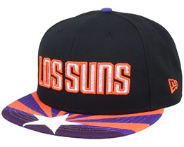 Phoenix Suns 9Fifty Black/Orange/Purple Snapback - New Era