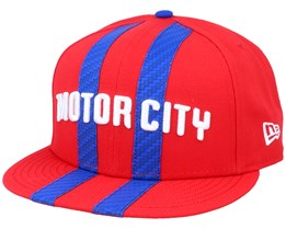 Detroit Pistons 9Fifty Red/Blue Snapback - New Era