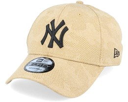 New York Yankees Engineered Plus 9Forty Heather Brown/Black Adjustable - New Era