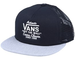 Galer Black/Heather Grey Trucker - Vans