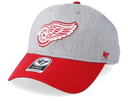 Detroit Red Wings Palomino Two Tone 47 Mvp Heather/Red Adjustable - 47 Brand