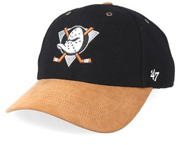 Anaheim Ducks Willowbrook 47 Mvp Wool Black/Camel Adjustable - 47 Brand
