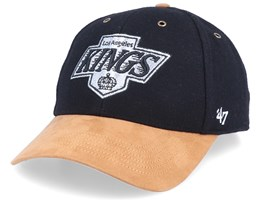 Los Angeles Kings Willowbrook MVP Wool Melton Black/Brown Adjustable - 47 Brand