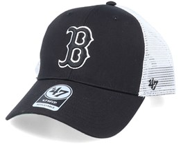 Boston Red Sox Branson Mvp Black/White Trucker - 47 Brand