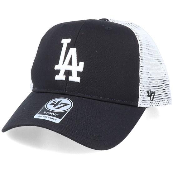Keps Los Angeles Dodgers Branson Mvp Black/White Trucker - 47 Brand - Svart