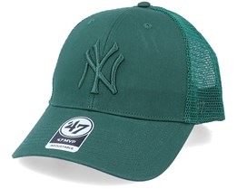 New York Yankees Branson Mvp Dark Green Trucker - 47 Brand