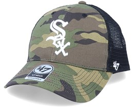 Chicago White Sox Branson Mvp Camo/Black Trucker - 47 Brand