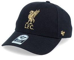 Liverpool Exclusive Metallic Mvp Black/Gold Adjustable - 47 Brand