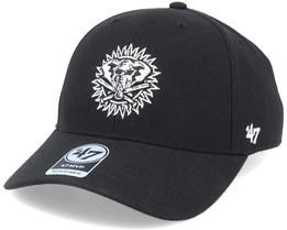 Oakland Athletics Cooperstown Mvp Black/White Adjustable - 47 Brand