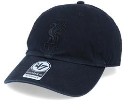 Hatstore ExclusiveLiverpool FC Black/Black Dad Cap - 47 Brand