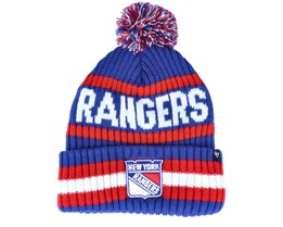 New York Rangers Bering Royal/Red Pom - 47 Brand