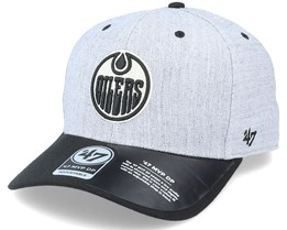 Edmonton Oilers Storm Cloud TT Mvp DP Heather Grey/Black Adjustable - 47 Brand