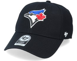 Toronto Blue Jays Mvp Black/White Adjustable - 47 Brand