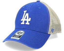 Los Angeles Dodgers Flagship Wash Mvp Royal/Beige Trucker - 47 Brand