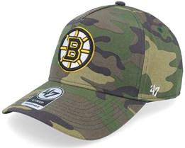 Boston Bruins Grove Mvp DT Camo Adjustable - 47 Brand