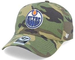 Edmonton Oilers Grove Mvp DT Camo Adjustable - 47 Brand