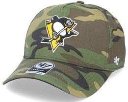 Pittsburgh Penguins Grove Mvp DT Camo Adjustable - 47 Brand
