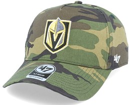 Vegas Golden Knights Grove Mvp DT Camo Adjustable - 47 Brand