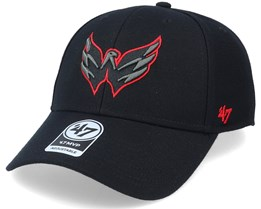 Washington Capitals Mvp Black/Red Outline Adjustable - 47 Brand