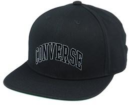 Varsity Black Snapback - Converse