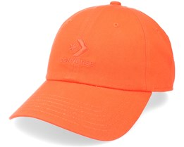 Lock Up Baseball Mpu Bright Poppy Orange Dad Cap - Converse