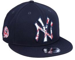 New York Yankees MLB 9Fifty Batting Practise Navy Snapback - New Era