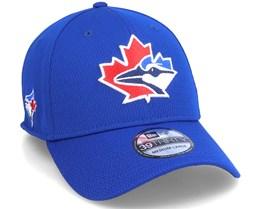 Toronto Blue Jays MLB 39Thirty Batting Practise Blue Flexfit - New Era