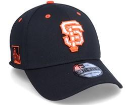 San Francisco Giants MLB 39Thirty Batting Practise Black Flexfit - New Era