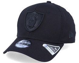 Kids Oakland Raiders Tonal 9Fifty Stretch Snap Black/Black Adjustable - New Era