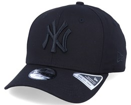 Kids New York Yankees Tonal 9Fifty Stretch Snap Black/Black Adjustable - New Era