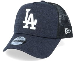 Los Angeles Dodgers Shadow Tech A-Frame Navy/White Trucker - New Era