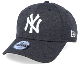 Kids New York Yankees Shadow Tech 9Forty Heather Black/White Adjustable - New Era