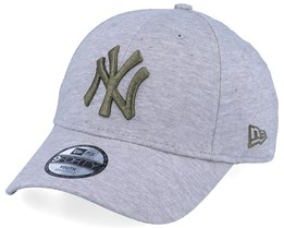 Kids New York Yankees Jersey Essential 9Forty Heather Grey/Green Adjustable - New Era
