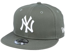 Kids New York Yankees Essential 9Fifty Olive/White Snapback - New Era