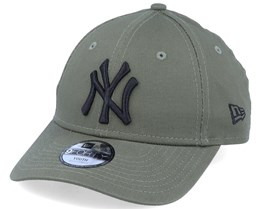 Kids New York Yankees Essential 9Forty Olive/Black Adjustable - New Era