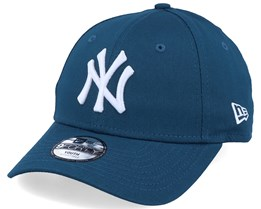 Kids New York Yankees Essential 9Forty Dark Teal/White Adjustable - New Era