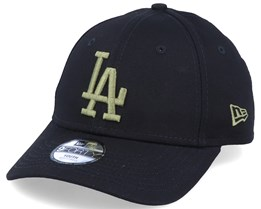 Kids Los Angeles Dodgers Essential 9Forty Black/Olive Adjustable - New Era