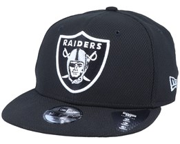 Kids Oakland Raiders Diamond Era Essential 9Fifty Black/White Snapback - New Era