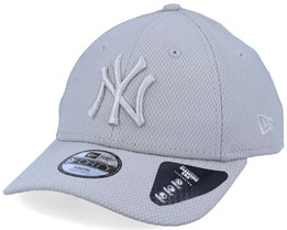 Kids New York Yankees Diamond Era Essential 9Forty Grey/Silver Adjustable - New Era